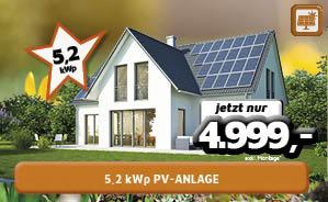 5,2kWp PV-Anlage