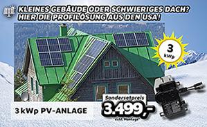 3kWp PV-Anlage