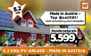 5,2 kWp PV-Anlage Made in Austria