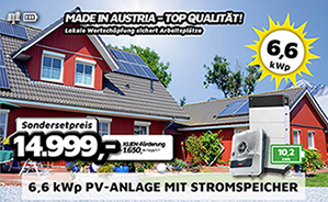 6,6 kWp PV-Anlage Made in Austria