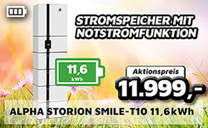 Alpha Storion Smile-T10 11,6kWh