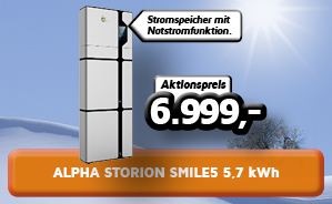 Alpha Storion Smile5 5,7 kWh