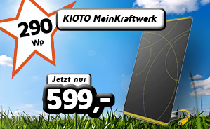 KIOTO Mein Kraftwerk 290 Wp