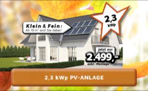 PV-Anlage Klein & Fein