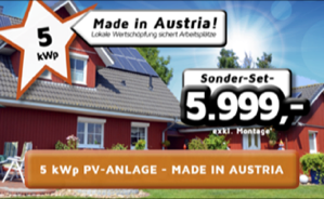 PV-Anlage Made in Austria