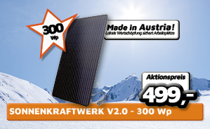 SonnenKraftwerk V2.0 - 300 Wp