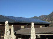 Photovoltaik-Anlage Nebengebäude in Gastein