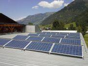 Photovoltaik-Anlage Nebengebäude in Bad Hofgastein