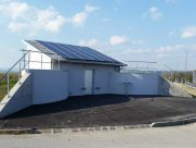 Photovoltaik-Anlage Hochbehälter Betriebsgebiet Ardagger