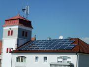 Photovoltaik-Anlage Feuerwehrhaus Stift Ardagger