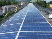 Photovoltaik-Anlage Gebietskrankenkasse Bad Schallerbach