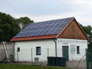 Photovoltaik-Anlage Kläranlage Waldenstein