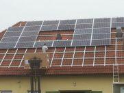Photovoltaik-Anlage Kläranlage Ernsthofen