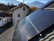 Photovoltaik-Anlage Einfamilienhaus Ferlach