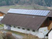 Photovoltaik-Anlage Nebengebäude St. Andrä