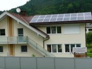 Photovoltaik-Anlage Einfamilienhaus Lavamünd