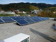 Photovoltaik-Anlage Betriebsgebäude Wolfsberg
