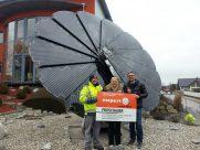Photovoltaik-Anlage Smartflower WH Wimmer