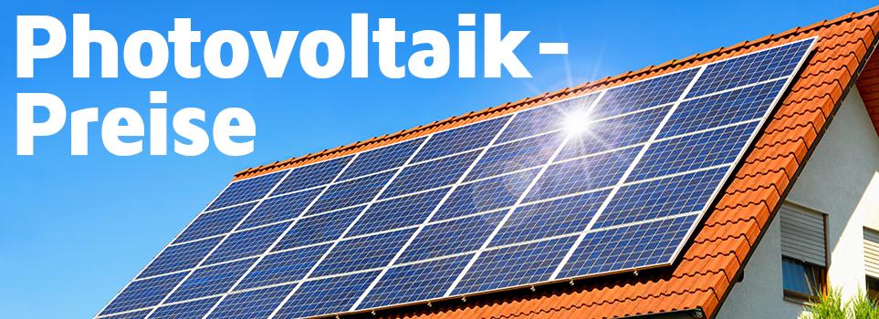 Photovoltaik-Preise