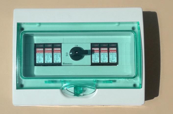 GAK PV-Blitz u. Übersp.Ableiter + DC-Schalter 2MPP