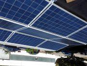 Photovoltaik-Anlage Flachdach Ost-West