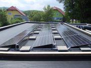 Photovoltaik-Anlage Flachdach Seitenstetten