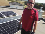 Photovoltaik-Anlage Familie Heinrich Wimpassing
