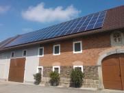 Photovoltaik-Anlage Landwirtschaft