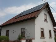 Photovoltaik-Anlage 6,0 kWp Süden und Westen