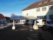 Photovoltaik-Anlage 6,5 kWp Solarcarport mit E-Ladesäule in Weiglsdorf/Ebreichsdorf