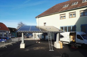 6,5 kWp Solarcarport mit E-Ladesäule in Weiglsdorf/Ebreichsdorf
