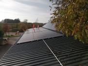 Photovoltaik-Anlage PV-Anlage Firmengebäude Ardagger Markt