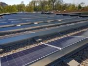 Photovoltaik-Anlage Die Garten Tulln - Motivationsgebäude