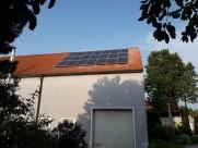 Photovoltaik-Anlage Landwirtschaftliches Gebäude