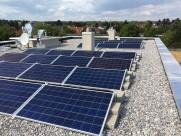 Photovoltaik-Anlage Energieautarker Kindergarten Tulln Zeiselweg