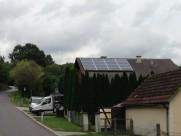 Photovoltaik-Anlage Div. Bilder von uns montierten PV Anlagen